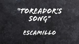Toreador's-song